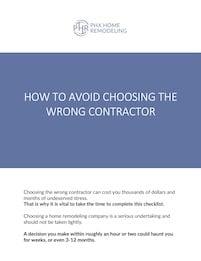 AVoid Checklist cover