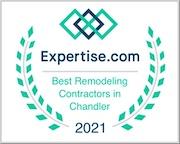 Best remodeling contractors in Chandler Expertise award