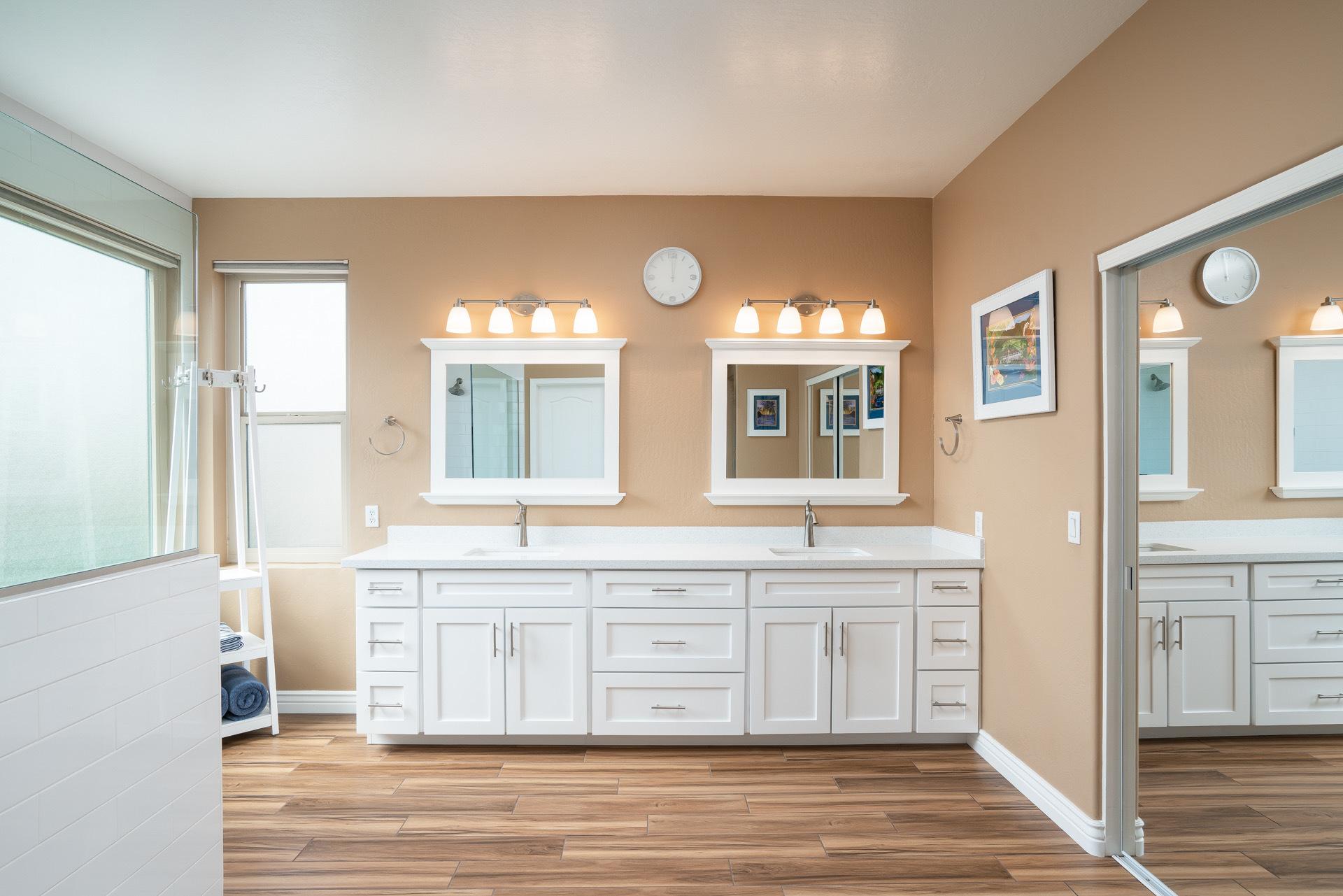 master bathroom vanity remodel Ahwatukee after